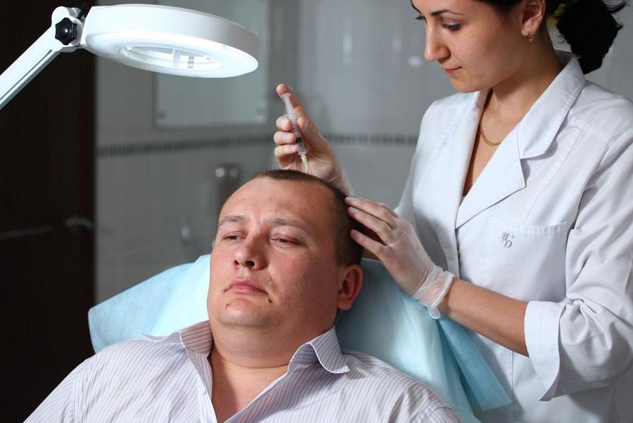 Мезотерапия волос - профилактика алопеции