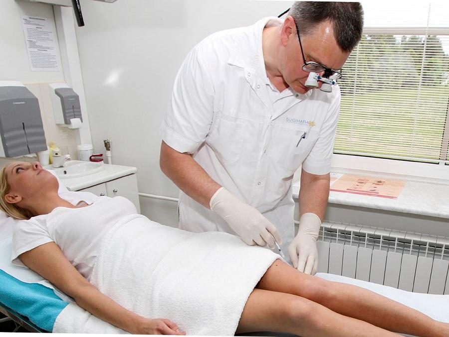 Склеротерапия варикозной болезни: как проходит лечение вен